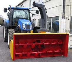 Mounted Snow Blower Mu Pto Driven Tractor Boschung Group